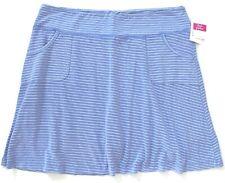 FRESH PRODUCE XL Peri BLUE Pinstripe CITY Stretch Knit Skort $65 NWT New XL