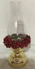 Golden Christmas Candle Holder 13 Inches Tall