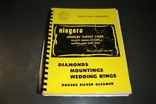 1968-1969 NIAGARA JEWELRY SUPPLY CATALOG RINGS WATCHES ETC WITH OVER 300 PAGES
