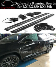 Fits LEXUS RX RX350 RX450h F Sport 2016-2020 Deployable Running Board Side Step