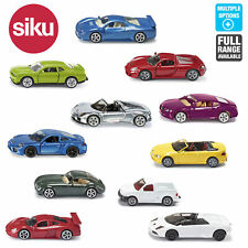 SIKU Miniature Scale 1:55 Diecast Model Sports Super Cars Toys Motorcar Age 3+