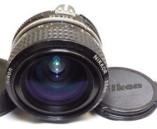 Nikon NIKKOR 28mm f2.8 Ai Lens  genuine manual focus (scratched)