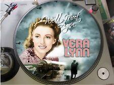 """Vera Lynn - We'll Meet Again Mega Rare 12"""" Picture Disc Maxi Single Promo LP NM"""