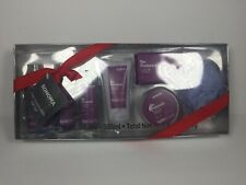 NEW Sonoma 7 Piece Bath Gift Set - Lavender Body Lotion, Shower Gel, & Mesh Pouf