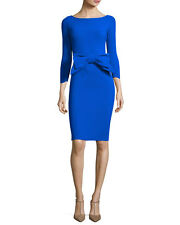 $795 LA PETITE ROBE di CHIARA BONI BREYSTYN COBALT BLUE DRESS NWT SZ 44/8