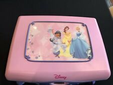 Disney Princess CD Player With Jewelry And CD Storage Mirror Works Great