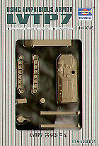 Trumpeter 1/144 LVTP7 USMC Amphibious Armour # 00104