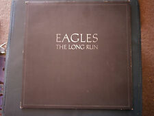 Vintage Vinyl record EAGLES Long Run