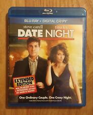Date Night (2010) Like New Blu-ray Extended Edition + Theatrical Version