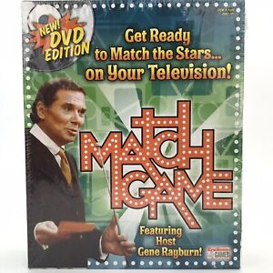 Match Game  Featuring Host Gene Rayburn DVD Edition Board Game 2007 Sealed 2010