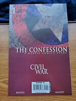 CIVIL WAR CONFESSION 1 MARVEL COMICS 2007 NM- CAPTAIN AMERICA  AVENGERS
