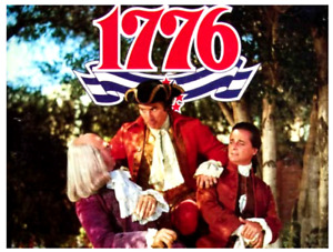 """16mm Feature Film """"1776"""" (1972) William Daniels - MUSICAL - Rated PG version"""
