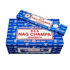 180g Nag Champa Incienso Azul Agarbathi 12x 15G Incienso Nagchampa