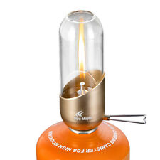 Portable Candle Camping Gas Lamp Mini Outdoor Light Adjustable Brightness