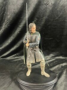 SIDESHOW WETA LORD OF THE RINGS THE HOBBIT ARAGORN SON OF ARATHORN STATUE FIGURE