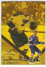 CHRIS PRONGER CLASS 1 2000-01 TOPPS GOLD LABEL 85 SERIAL #/399 ST. LOUIS BLUES