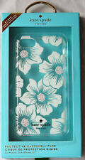 Kate Spade Case for iPhone 8, 7, 6, 6s Hollyhock Floral Cream w/ Stones