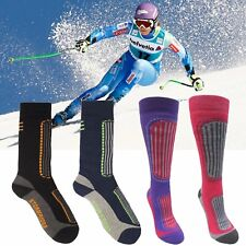 2 / 4 pk Mens Ladies Long Thick Compression Ski Boot Outdoor Thermal Socks 4-11