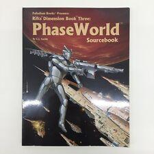 Palladium Books rifts dimensione LIBRO TRE 3 fase MONDO fonte di riferimento softback