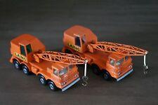 Matchbox SuperKings Scammell Mobile Crane K-12 1971 X2