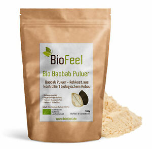 BioFeel -  Bio Baobab Pulver, 100g