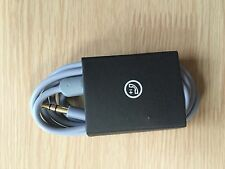 NEW - V2 Remote Mic Control Talk Cable Wire 3.5mm Jack For Beats dr dre - Grey