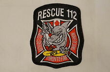 Canadian Rescue 112 Toronto Fire Department Patch