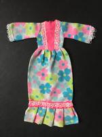 Vintage Sindy Lounger 1973 flower power daisy floral maxi dress S124 ShimmyShim