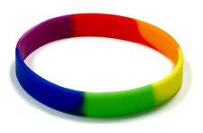 Gummiarmbänder-Regenbogen