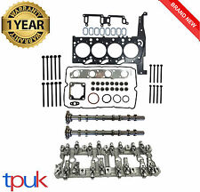 LAND ROVER DEFENDER 2.4 CYLINDER HEAD REBUILD SET 2006 ON + CAMS ROCKER CARRIER