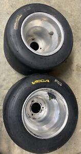 go kart racing aluminum wheels and vega tires