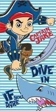 Jake et les Pirates Du Pays Imaginaire Serviette de Toilette 100% Coton