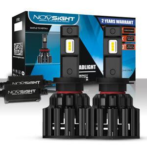 NOVSIGHT H7 Kfz-zugelassene LED-Scheinwerfer Birnen Hi /Lo Beam Lampe 6000K Weiß