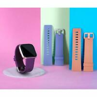 Band Strap for Fitbit Versa Soft Silicone Sports Bands Fitness Sport Bracelet Ca