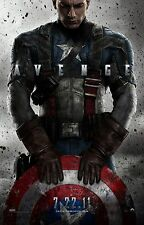 Captain America The First Avenger (2011) Movie Poster (24x36) - Chris Evans v1