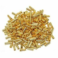 100pairs 3.5mm Gold Bullet Connector Male / Female Plug for Battery ESC Motor