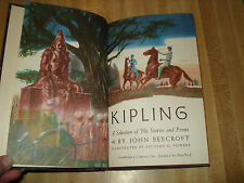 Awesome 1956 Vintage book - Kipling A Selection of His Stories & Poems