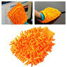 Neu Mikrofaser Waschhandschuh Schwamm Handschuh Autowaschhandschuh Autoschwamm