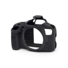 EasyCover fotocamera silicone pelle PRO ARMOR CASE per adattarsi a Canon EOS 1300d DSLR Nero