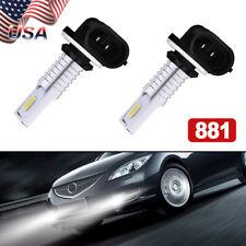 2Pcs Fog Light 110W Led Replacement Bulb 881 896 For Volvo Vnl Vn 2003-2015