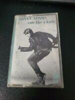 1983 Bryan Adams Cuts Like A Knife Cassette