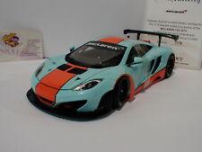 "AUTOart 81343 - McLaren 12C GT3 Presentations Car 2011 im "" GULF-Design "" 1:18"