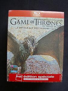 Coffret Game of Thrones - L'integrale Saison 1 a 6- Fnac- Blu-Ray - Neuf Blister