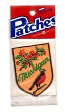 Michigan Robin Voyager Travel Souvenir Patch - Brand New - Free Shipping