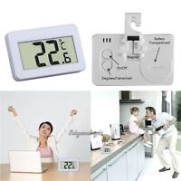 Home Digital LCD Thermometer Temperature Meter with Magnet Hook for Refrigerator