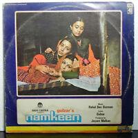 Namkeen R D Burman LP Vinyl Record Rare Hindi Soundtrack Bollywood Indian EX