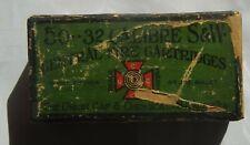 Rare Union Gap and Chemical (Western) maltese cross .32 S&W ammo box