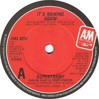 """Supertramp – It's Raining Again  7"""" Vinyl 45rpm"""