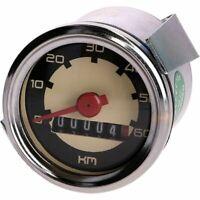Tachometer kabel Elvedes VDO 80cm Schwarz Moped Speedo cable Puch black