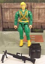GI JOE Rock N Roll v7 machine gunner 2005 comic 3 pack Craig McConnell